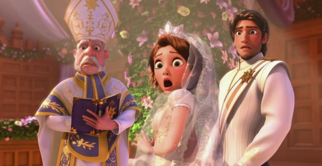 Watch a clip from Disney's new short Tangled: Ever After ...