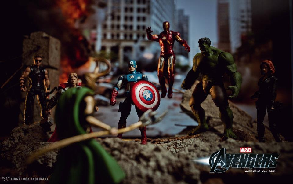 The Avengers (2012) - Action Figures - Assemble