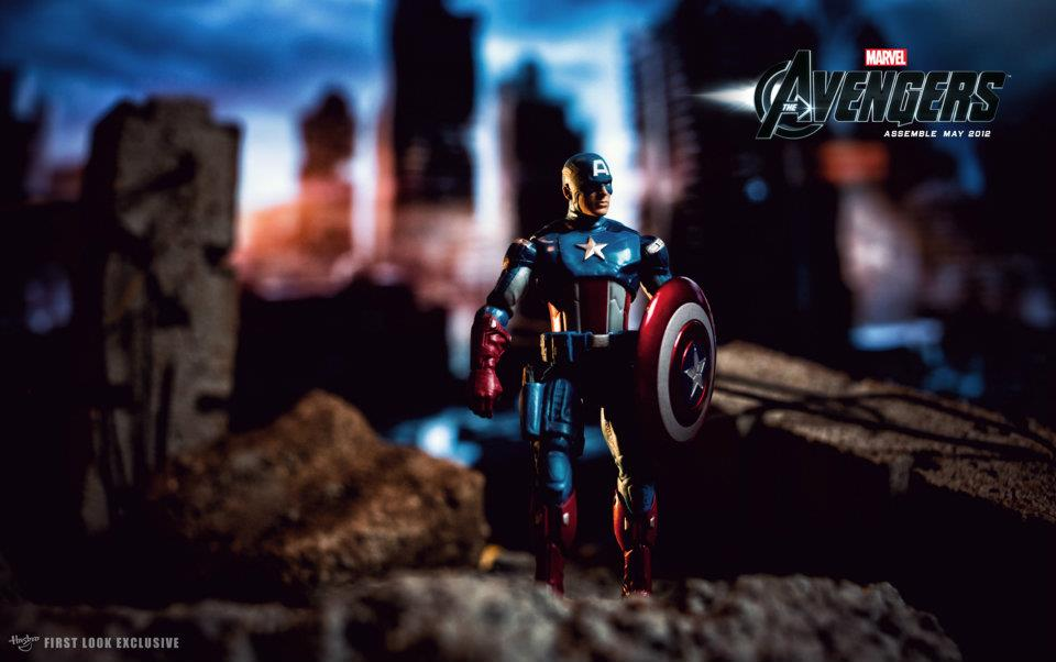 The Avengers (2012) - Action Figures - Captain America
