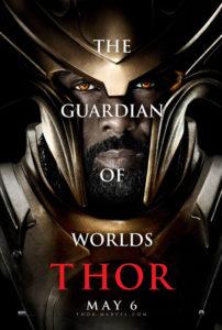 Thor poster - Heimdall - Idris Elba