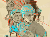 TRON Mondo poster (2012) - Martin Ansin