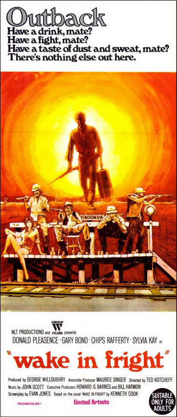 Wake in Fright (1971) poster - Australian Daybill