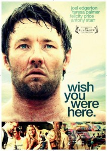 Wish You Were Here - Joel Edgerton poster