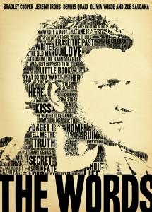 The Words poster - Bradley Cooper
