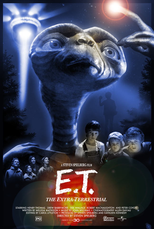 E.T.: The Extra-Terrestrial - Hopko Designs poster
