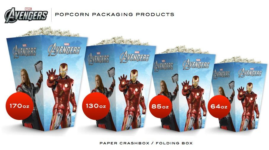 The Avengers Popcorn