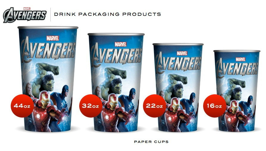 The Avengers Cups