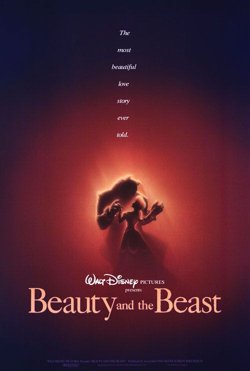 Disney's Beauty and the Beast (1991) poster