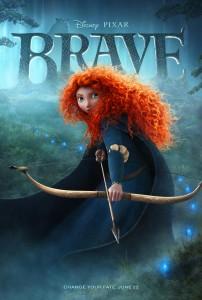 Brave Merida poster slice