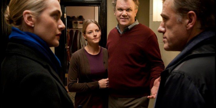 Carnage - Kate Winslet, Jodie Foster, John C. Reilly and Christoph Waltz