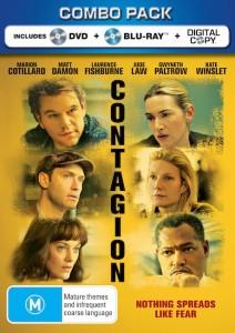 CONTAGION Blu-ray Combo