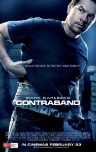 Contraband poster - Australia