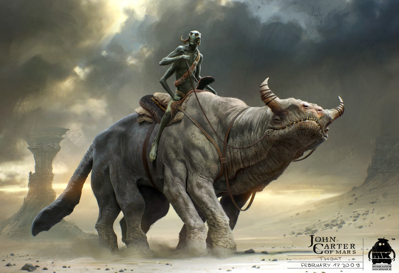 JOHN CARTER   is due in cinemas on 8 March 2012 in Australia and 9 ...