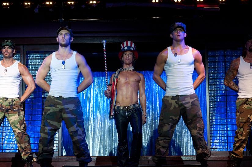 Magic Mike - Matthew McConaughey, Channing Tatum and Joe Mangianello