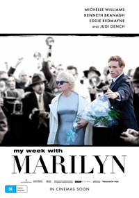 My Week with Marilyn poster - Australia