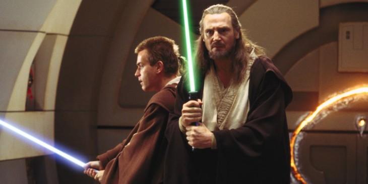 Star Wars Episode I: The Phantom Menace - Liam Neeson Ewan McGregor