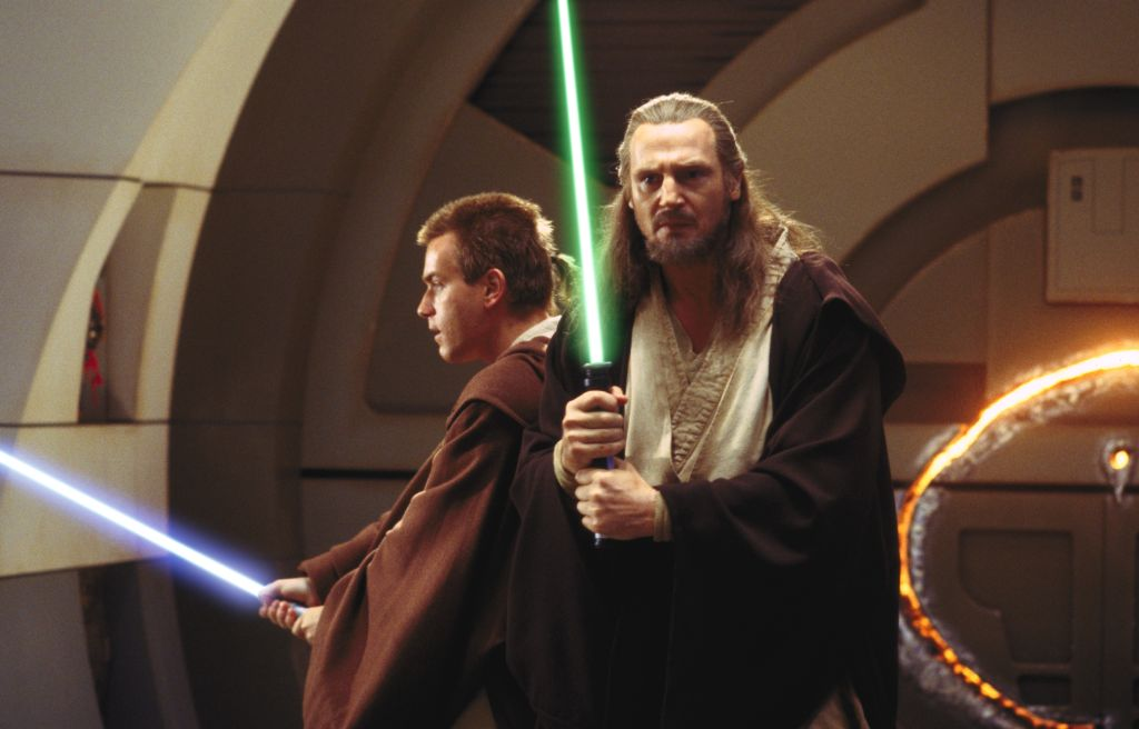 Star Wars Episode I: The Phantom Menace - Liam Neeson Ewan McGregor