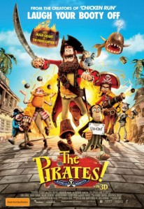The Pirates: A Band of Misfits poster