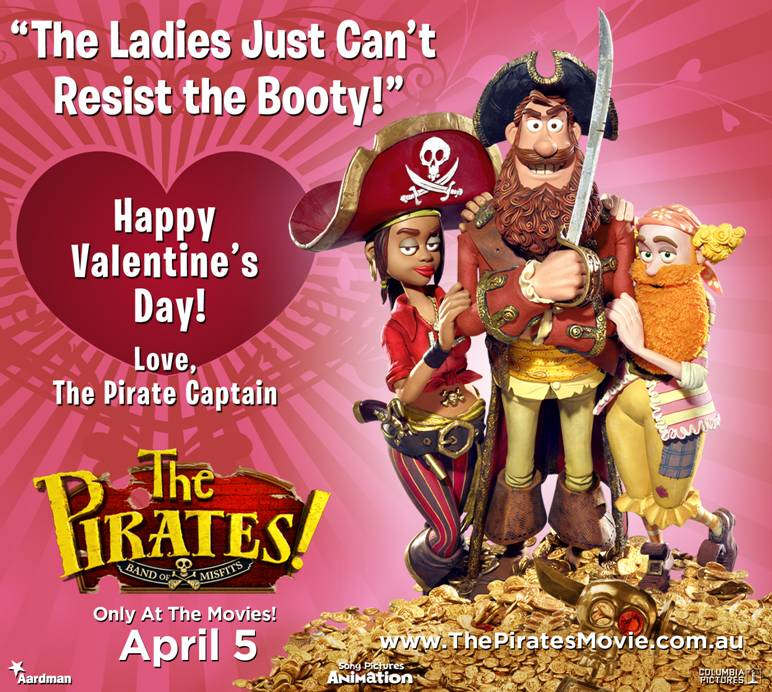 The Pirates: Band of Misfits - Valentines