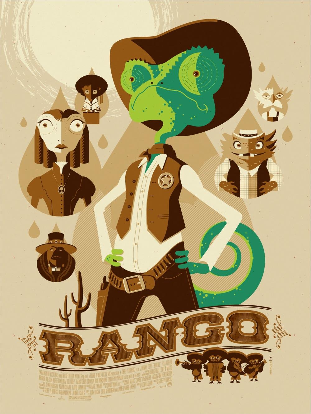 Mondo Rango poster