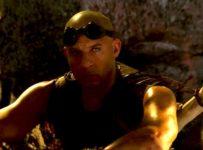 Vin Diesel just sitting as Riddick. Yup, just sitting.