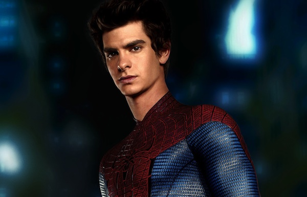 Andrew Garfield is the Amazing Spider-man in the City