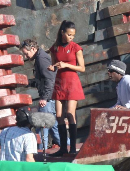 Star Trek 2 Set - Zoe Saldana