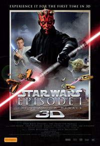 Star Wars: Episode I – The Phantom Menace poster Australia