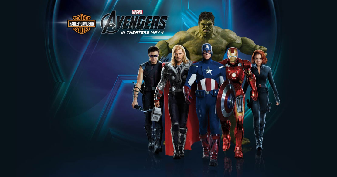 The Avengers - Harley-Davidson Banner