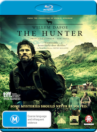 The Hunter Blu-ray cover