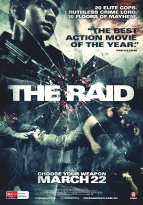The Raid - Australian poster