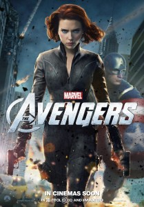 The Avengers poster - Black Widow