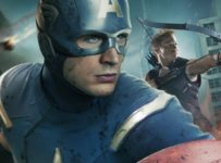 The Avengers poster - Captain America and Hawkeye