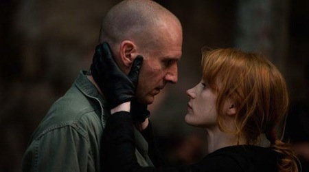 Coriolanus - Ralph Fiennes and Jessica Chastain