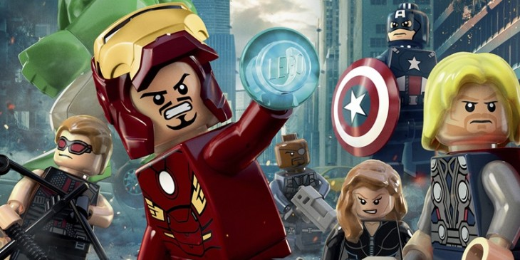 LEGO poster for THE AVENGERS