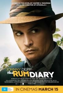The Rum Diary poster - Australia (Fox)