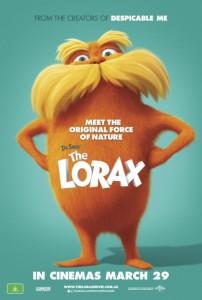 The Lorax poster - Australia