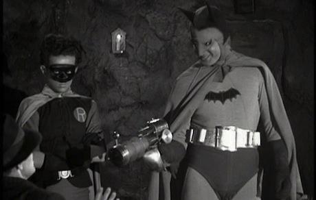 Batman (1943) - Batman (Lewis Wilson) and Robin (Douglas Croft)