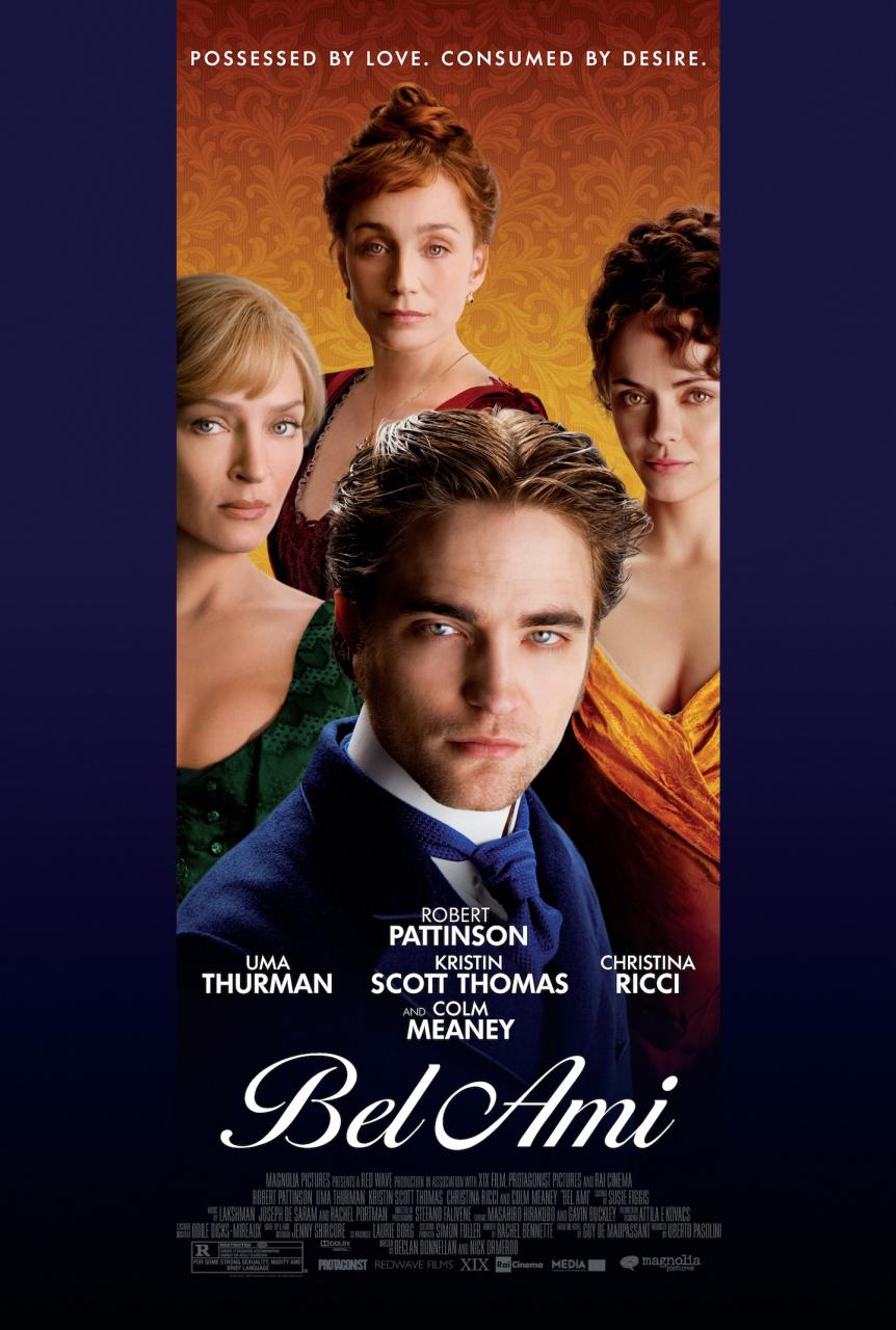 Bel Ami poster - Robert Pattinson