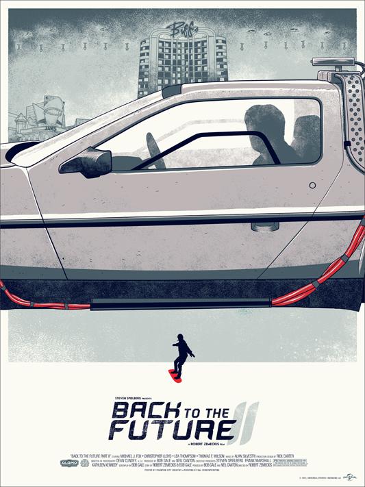 Back to the Future 2 - Mondo poster