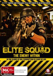 Elite Squad DVD Cover