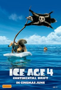 Ice Age 4: Continental Drift poster - Australia