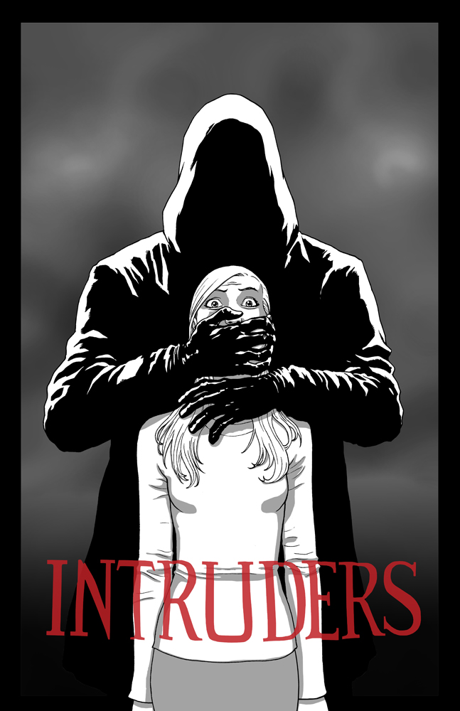 Intruders poster - Jacen Burrows