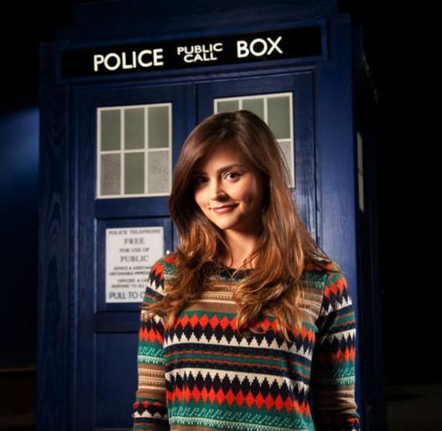 JENNA-LOUISE COLEMAN - Doctor Who - TARDIS