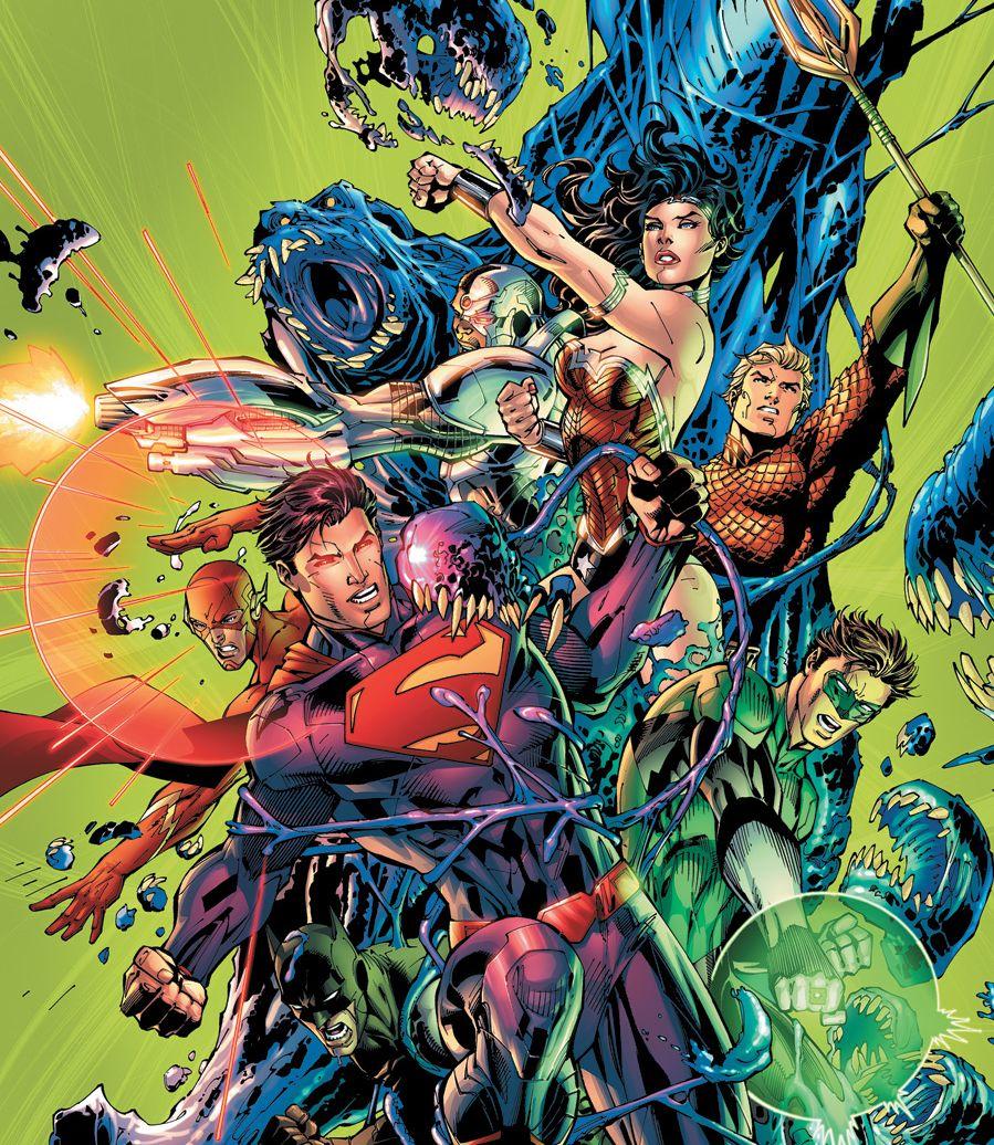Justice League #7 - Jim Lee Cover