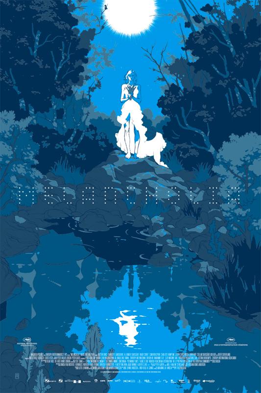 Melancholia - Mondo poster