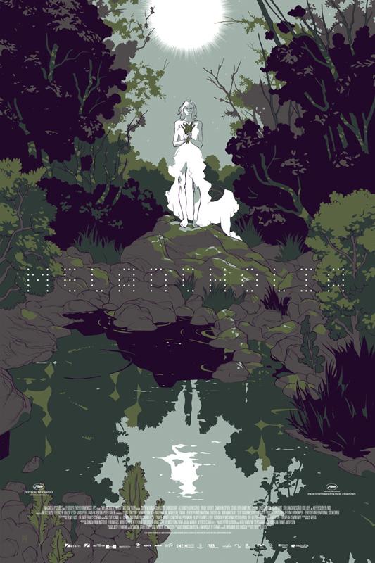 Melancholia - Mondo poster - Alternate