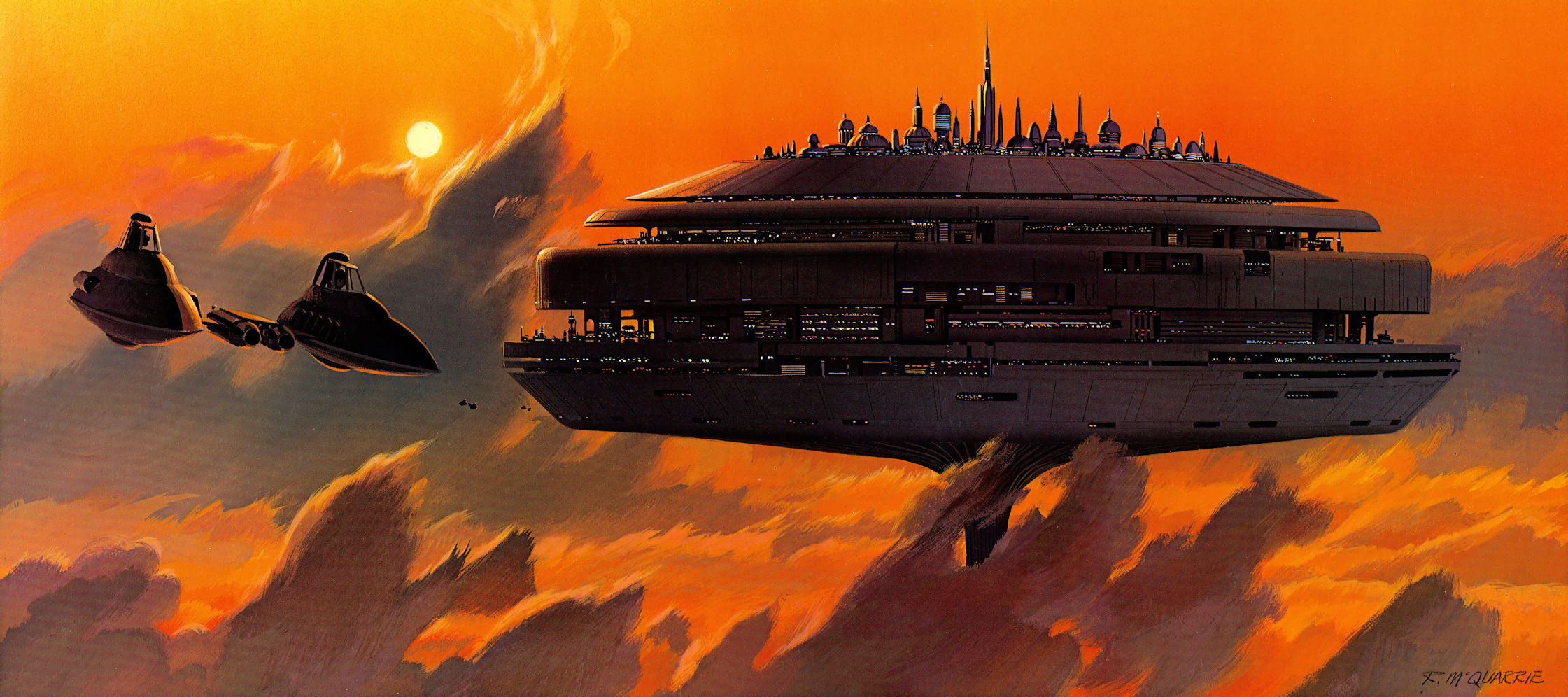 Ralph McQuarrie - Empire Strikes Back - Concept Art
