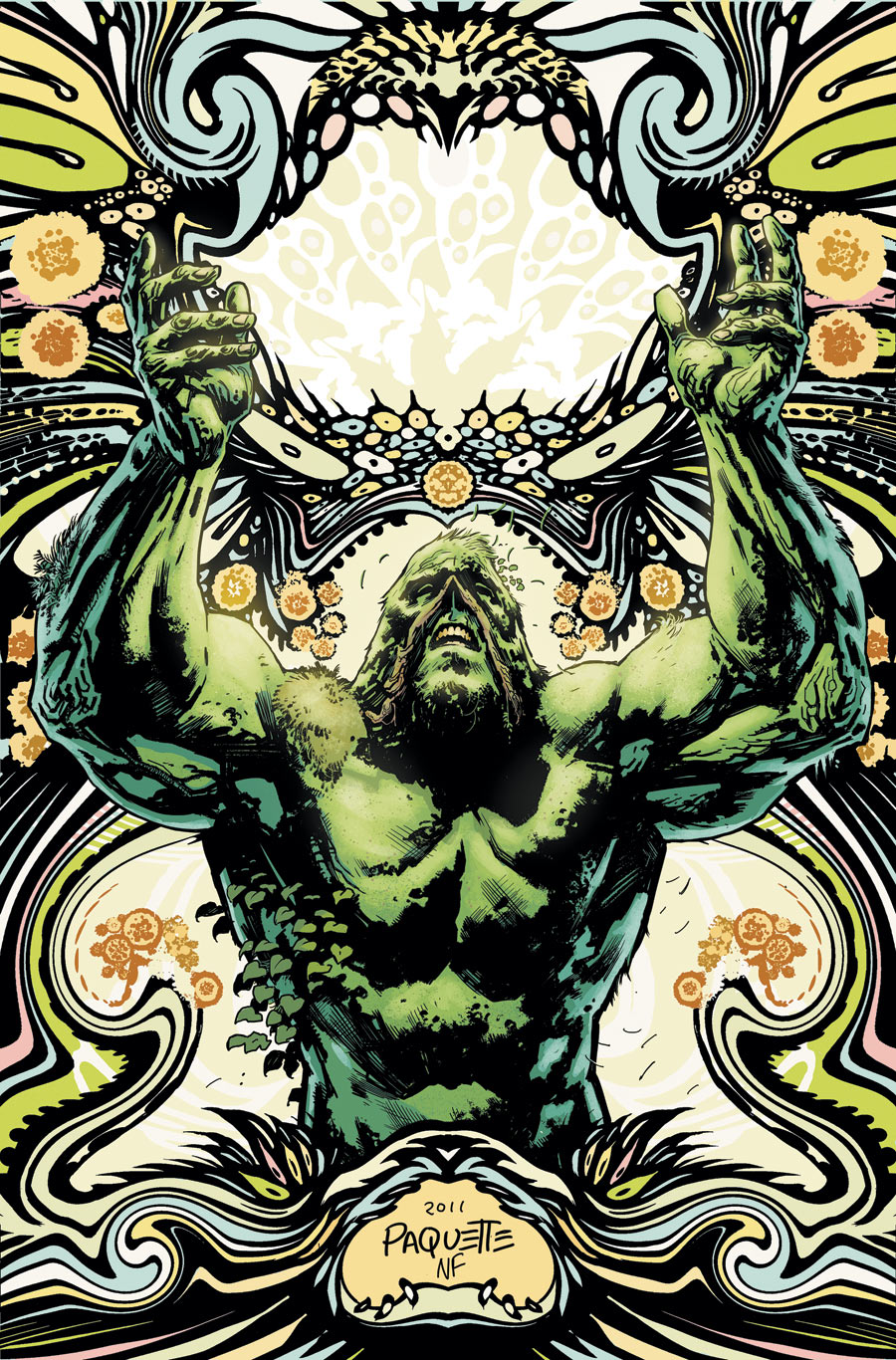 Swamp Thing #7 (2012) - Yanick Paquette