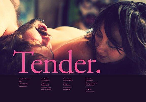 Tender poster - Jeremy Saunders